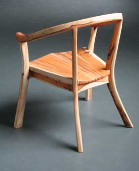 Chair from Yew tree ex.